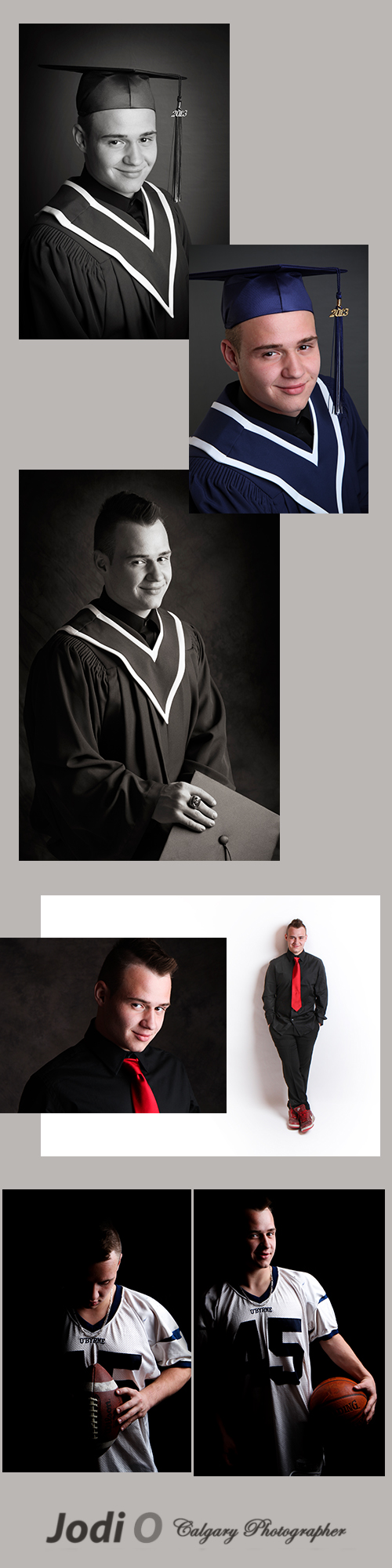 Calgary Cap and Gown Photographer