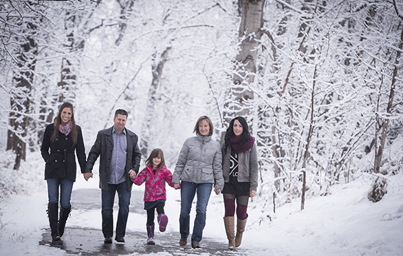 Winter Wonderland - Calgary Family Photography