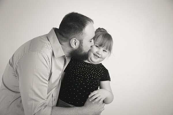 In studio Calgary family photography