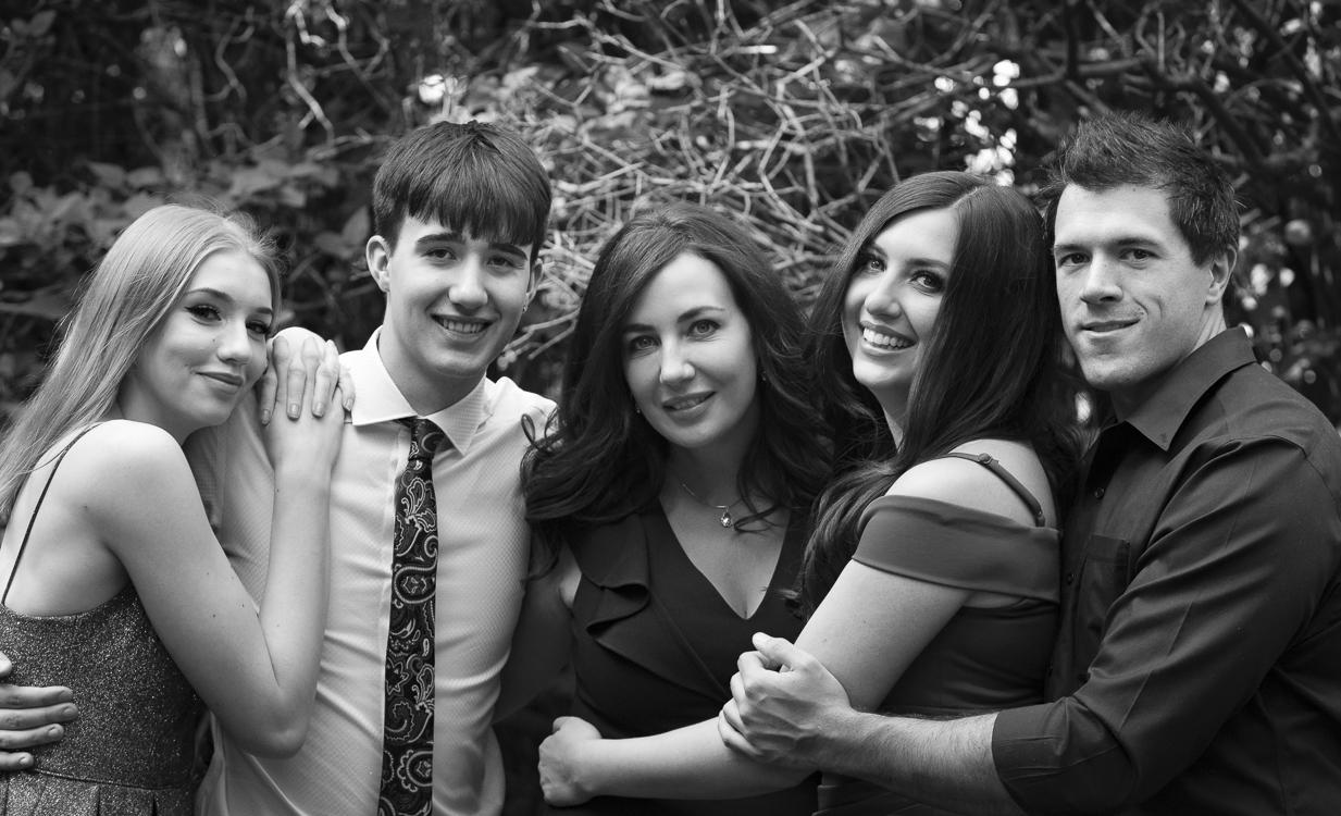 Family and Grad photos in Calgary